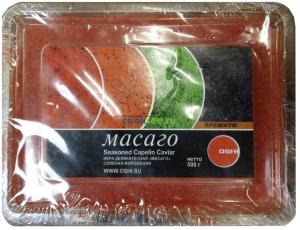 Икра Масаго оранжевая 500 гр.ТМ OSHI