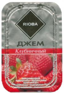 Джем порционный клубничный 20 гр./20 шт