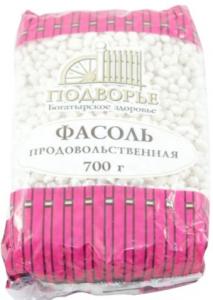 Фасоль белая 700 гр. ТМ Подворье