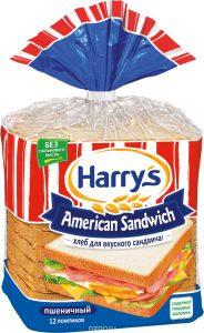 Хлеб тостовый пшеничный 470 гр. ТМ HARRIS