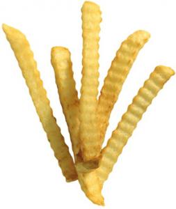 Картофель-фри волнистый 2,5 кг. ТМ AVIKO