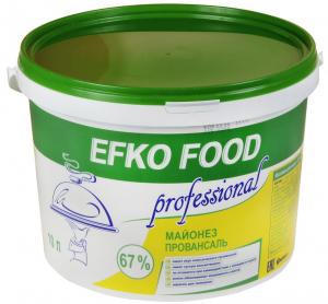 Майонез провансаль 67 % ведро 10 л.ТМ EFKO FOOD