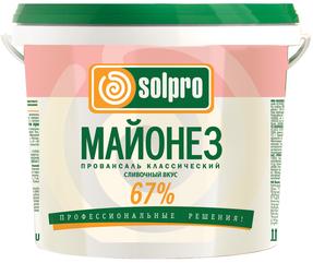 Майонез провансаль 67 % ведро 9.6 кг. ТМ Сол Про