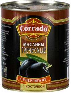 Маслины CORRADO греческие супергигантские, 820 гр