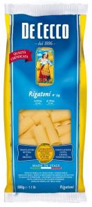 Паста ригатони ДеЧекко  500 гр.