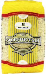 Рис золотистый длиннозерный 900 гр. ТМ Ангстрем