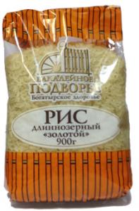 Рис золотистый длиннозерный 900 гр. ТМ Подворье