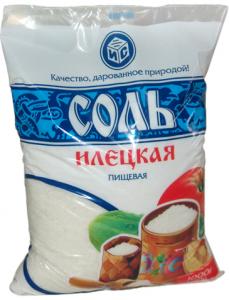 Соль крупная помол №1 ТМ Илецк, 1 кг.