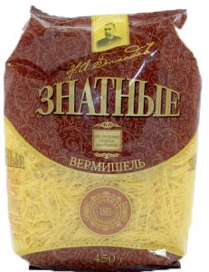 Вермишель яичная (паутинка)  450 гр. /20/