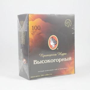 Чай черный 100 пакетиков ТМ НУРИ
