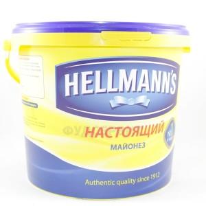Майонез настоящий ХЕЛЛ 5,3 л. (5кг)
