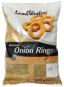 Луковые кольца в панировке 1кг.ТМ Lamb Weston
