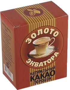 Какао-порошок 100 гр.ТМ Золото Экватора