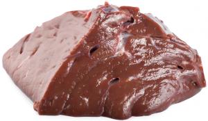 Печень говяжья с/м вес.