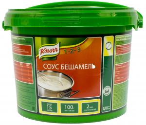 Соус Бешамель белый 1,5 кг. ТМ KNORR