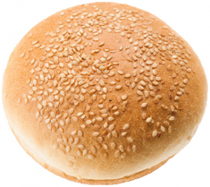 Булочка д/гамбургера с кунжутом (Еврохлеб) 82гр/30