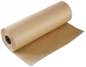 Бумага пергаментная для выпекания коричневая, 50 м