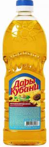 ДАРЫ КУБАНИ масло под 0,65л/20шт нераф, шт