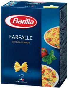 Фарфале Барилла (бантики) 500 гр.