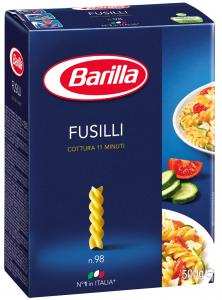 Фузилли Барилла 500гр/шт