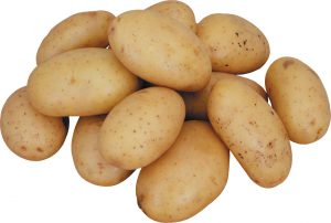 Картофель обычный мытый вес.