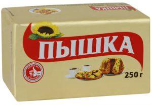 Маргарин 250 гр. ТМ Пышка