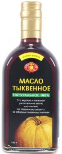 Масло тыквенное 350 мл. Украина