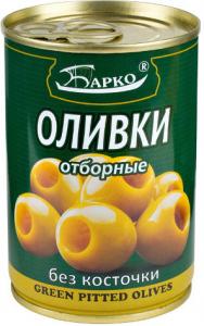 Оливки зеленые Б/К БАРКО 300мл/12шт, шт (1 шт)