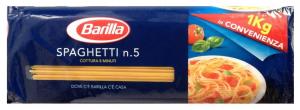 Паста Спагетти Барилла №5 1000 гр.