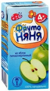 Сок Фруто-Няня в ассортименте 0,2 л./24 шт