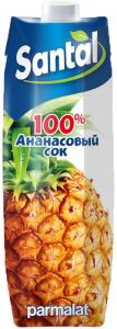 Сок  ананас Сантал 1 л.