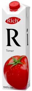 Сок томатный Рич 1 литр.