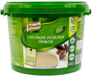Суп-пюре из лесных грибов 1,5 кг. ТМ KNORR
