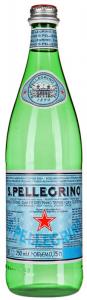 Вода San Pelegrino натур.газ 0,75л ст.