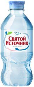 Вода минеральная без газа / 330 мл./ ТМ Святой источник
