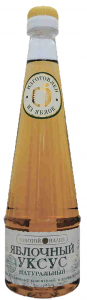 Уксус яблочный 500 мл. ТМ Золотой налив