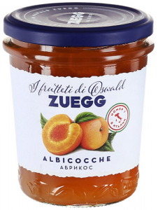 ZUEGG Конфитюр экстра Абрикос, 320г