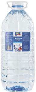 Вода ARO питьевая б/г 5 л