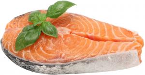 Филе лосося охлажденное в/у  ~2 кг., сырье-Фарерские острова