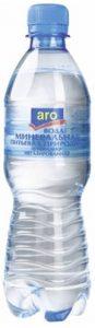 Вода ARO питьевая без газа 0,5 л.