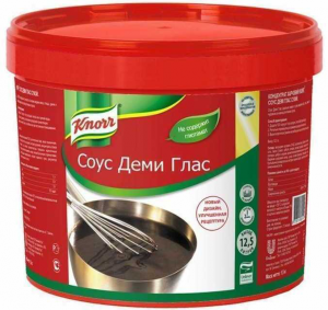 Соус Деми Гляс 1 кг. ТМ KNORR