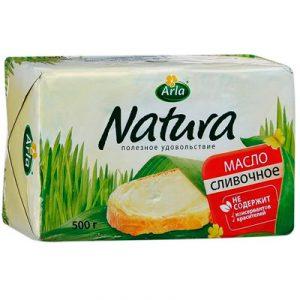Масло сливочное 82,5%  500 гр. ТМ Арла Натура