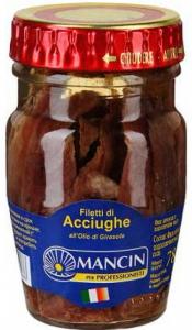 Анчоусы филе Mancin, 600 гр