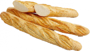 Багет французский с кунжутом  240 гр./20 шт./