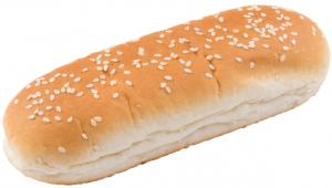 Булочка для датского хот-дога с кунжутом 90 гр. /50 шт./ ТМ Барон