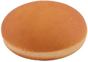 Булочка для гамбургера без кунжута 10 см. 90 гр./50 шт/ ТМ Барон