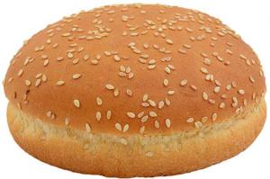 Булочка для гамбургера с кунжутом 10 см. 90 гр./50 шт/ ТМ Барон