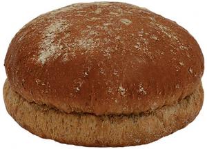 Булочка для гамбургера с ржаная 10 см. 90 гр./50 шт/ ТМ Барон