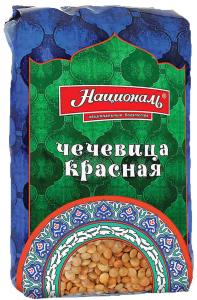 Чечевица красная 450 гр. ТМ Националь