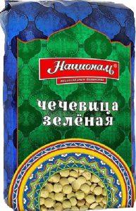 Чечевица зеленая 450 гр.ТМ Националь